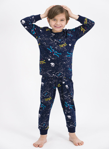 Roly Poly Pijama Takım Lacivert